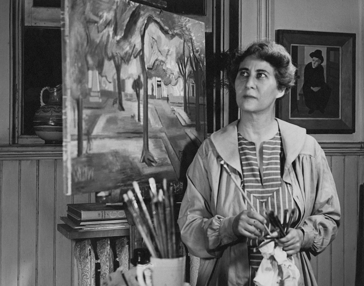 Theresa Pollak was an influential figure in Richmond's art scene who is credited as the founder of VCUarts and was the vice president of the Richmond Artists Association from 1958-1959. Photo provided by VCU News.