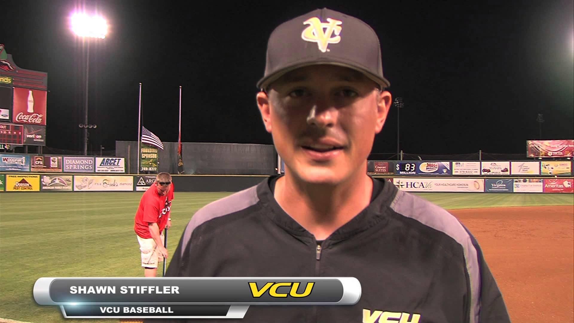 VCU baseball head coach Shawn Stiffler. Photo courtesy of VCU Athletics