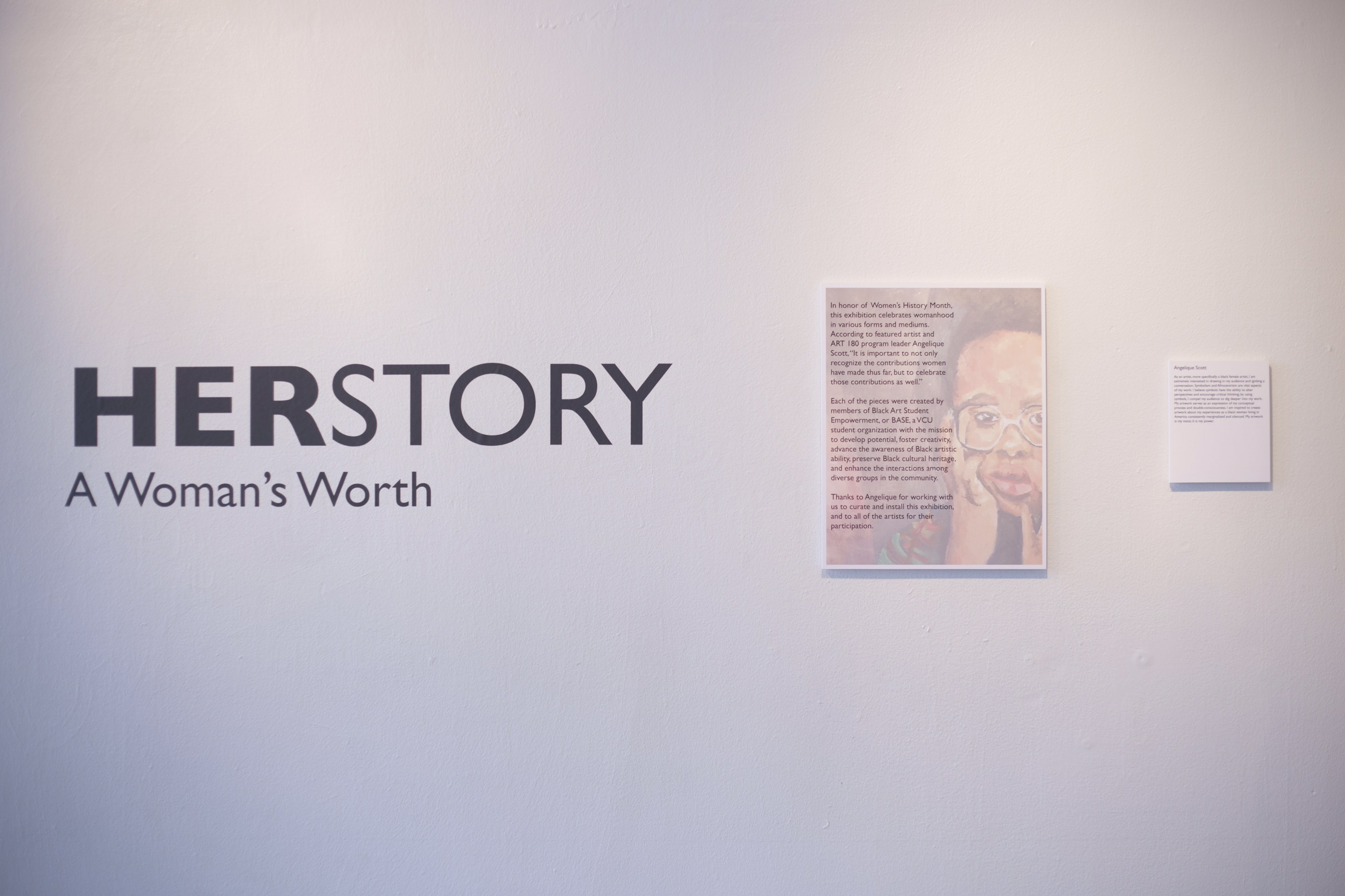 Base Art180s Herstory Exhibit Celebrates Womens History