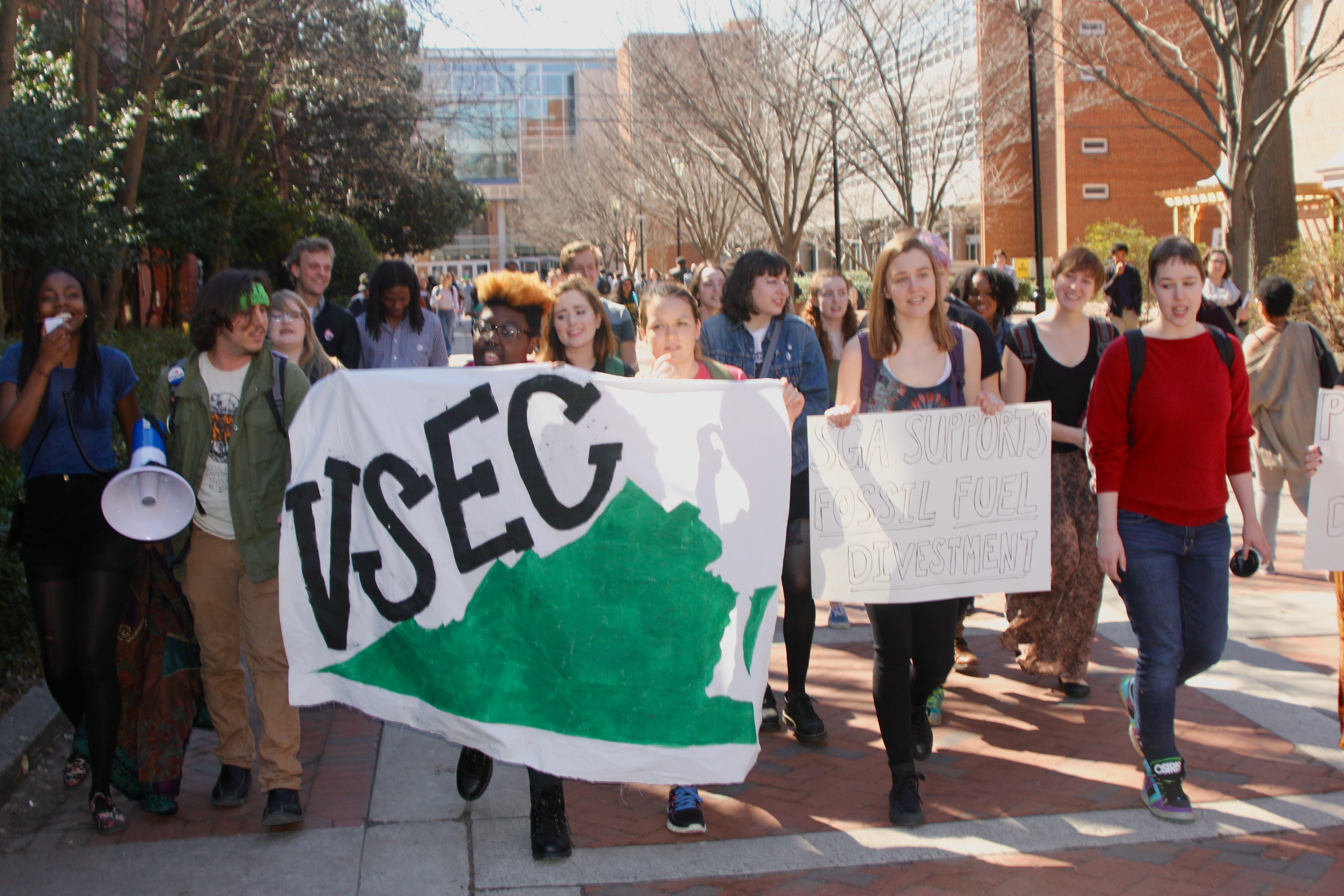 Photo by Fadel Allassan, Divest VCU