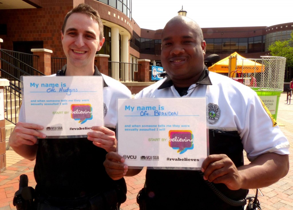 COP CORNER: At VCU, we Start by Believing to empower survivors The