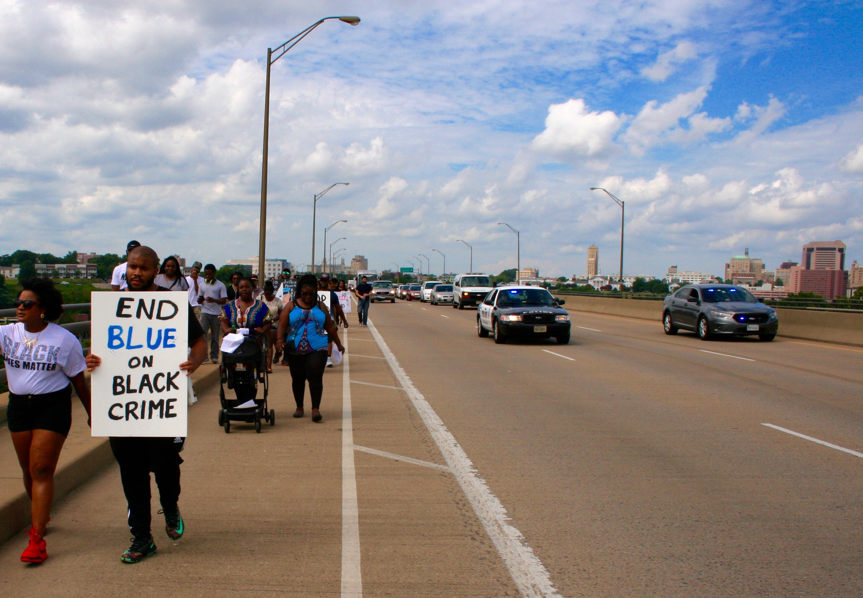 RVA 1k March, photo by Sarah King, the Commonwealth Times