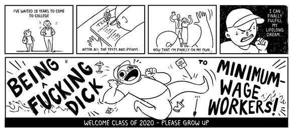 comic by Megan James