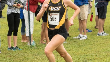 Last season, Emily Dyke clocked an 18:02.2 at the A-10 Championship to finish 21st overall. Photo provided by VCU Athletics